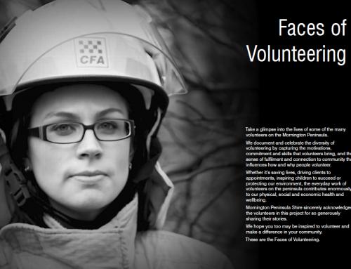 Faces of Volunteering.
